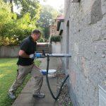 Nachträgliche Innenabdichtung  eines Wohn- und Geschäftshauses – Abdichtung gegen drückendes Wasser