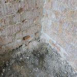 Komplette Entfernung des alten Fußbodens bis zum Erdreich
