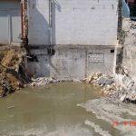 Grundwasserstand vor der Wasserabsenkung